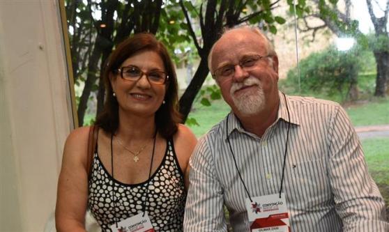Maria José Zani e Gilmar Zani, da Zani Agência de Viagens e Turismo