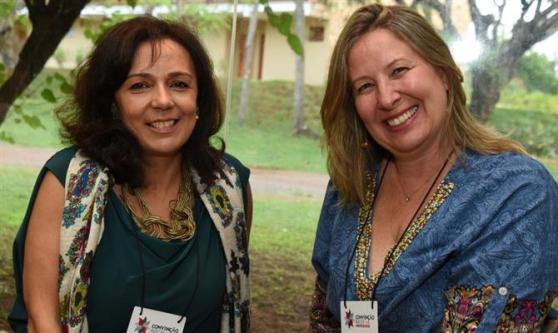 Luciana Scagliusi, da You Travel, e Rosana Grande, da Vitur