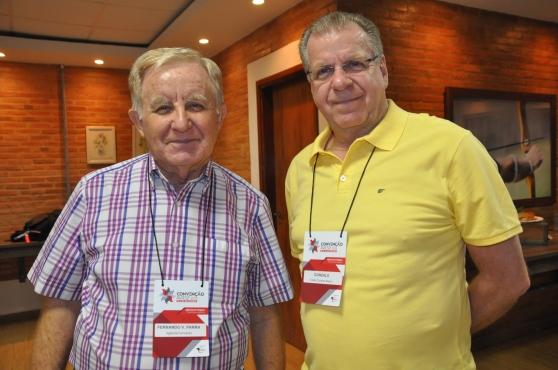 Fernando Parra da Agência Fernando e Gonzalo do Clube Turismo