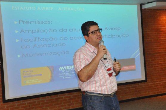 Marcos Lucas, VP Executivo da Aviesp