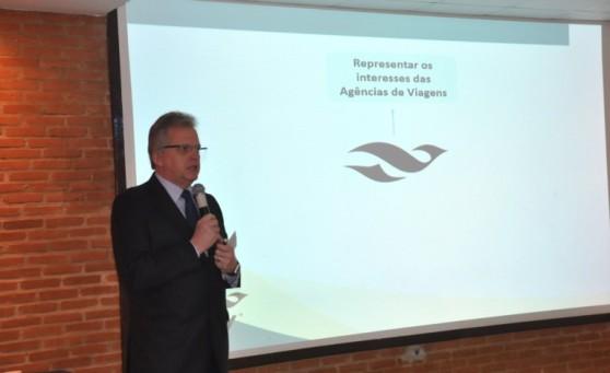 Edmar Bull fala dos benefícios da parceria com a Aviesp