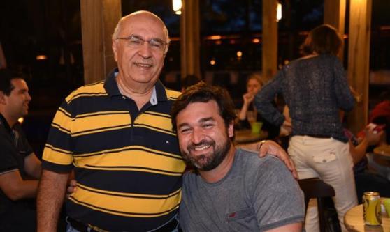 Sebastião Pereira, da Discover Tours, com Marcelo Gatti, da G Tour