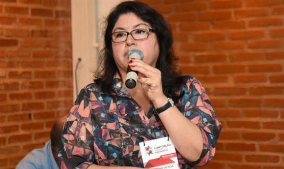 Milagros Ochoa, da Promperú, apresentou os destaques do país aos agentes