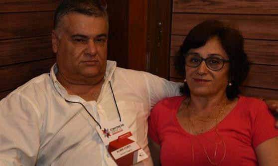 Almir Conti e Mari Conti, da Bahrein Viagens