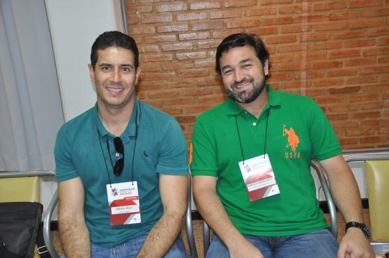 Rafael Ricci, da Karina Viagens e Marcelo Neder, da G.Tour