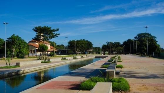Parque da Cidadania em Teresina (PI) está entre as obras concluídas pela pasta Foto – Renato Bezerra