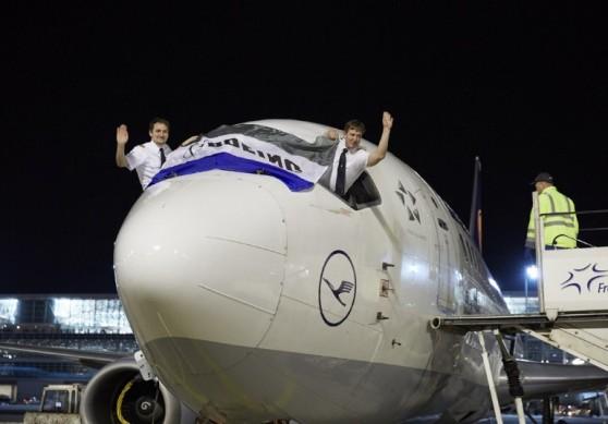 Chegada do último voo do B737 no dia 29 de outubro