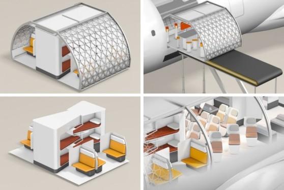Módulos que personalizariam cada voo podem estar a caminho da indústria mundial de aviação