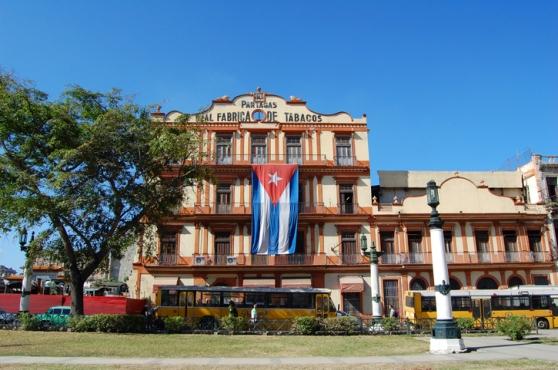 Havana cigar factory