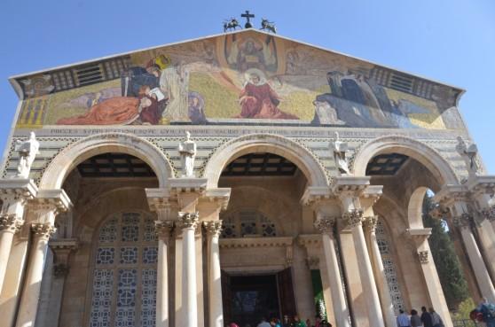 Igreja da Agonia aos pés do Monte das Oliveiras