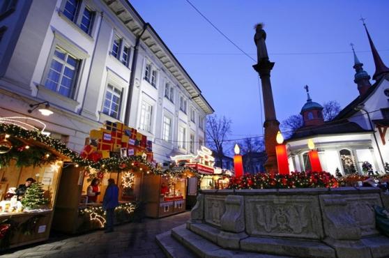 Mercado natalino de Lucerna Foto: divulgação