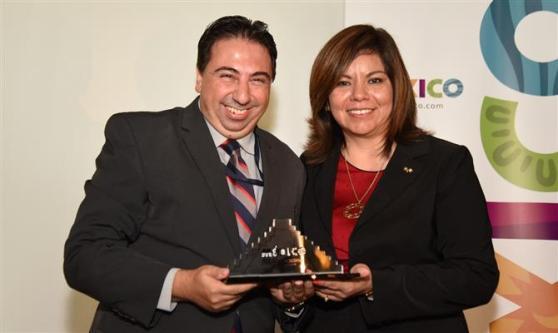 Marcelo Paolillo, da Flytour Viagens, foi outro premiado