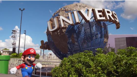 O Mário está chegando na Universal