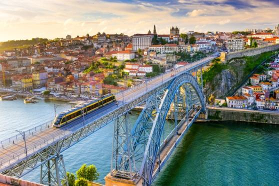 Porto Portugal Bridge