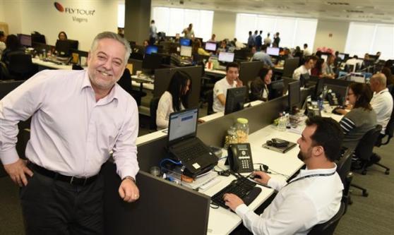 Michael Barkoczy, presidente da Flytour Viagens