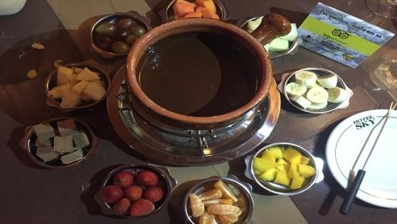Fondue de Chocolate. Foto: Ascom MTur