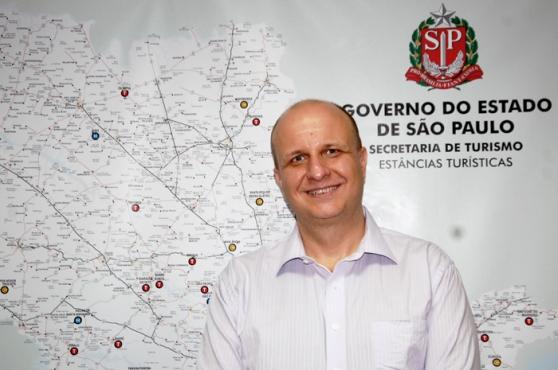 Laércio Benko, secretário de Turismo do Estado de São Paulo