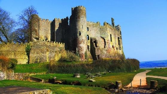 Castelo de Langhorwe, um dos mais famosos e visitados pelos turistas