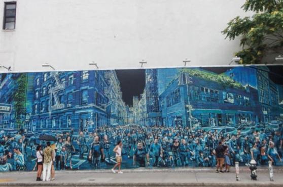 Bowery Graffiti Wall, NY – foto Bowery Boogie
