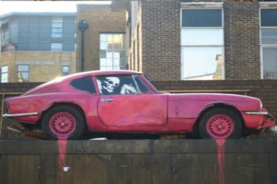 Graffiti em Brick Lane, Londres – foto divulgação