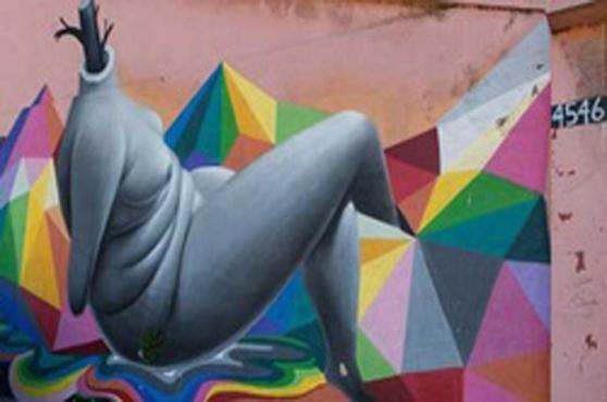 Grafite by Okuda, Chile – foto Valpostreetart