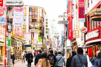 Bairro Shibuya - Tokyo